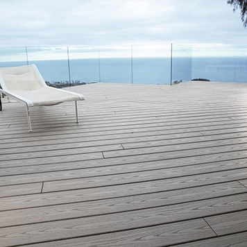 Capped Polymer Decking Types of Composite Decking