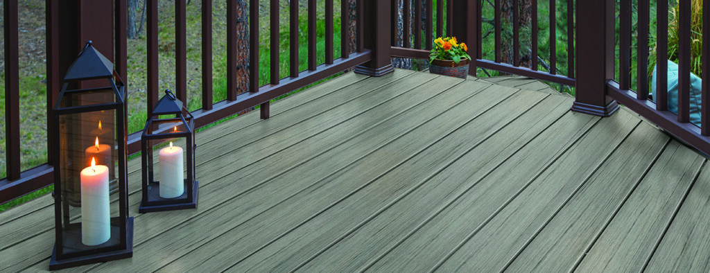 TimberTech PRO Reserve Collection in Driftwood types of composite decking