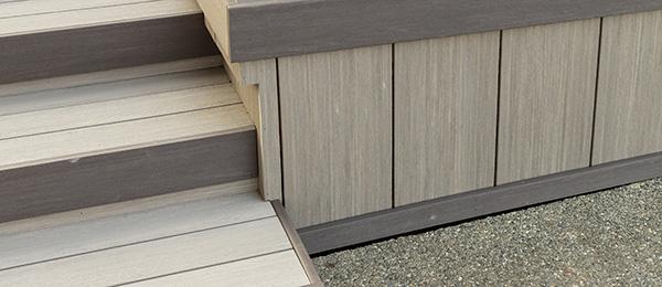 High-Performance Composite Deck Skirting by TimberTech AZEK