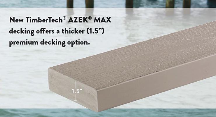 TimberTech AZEK Decking MAX Deck Board