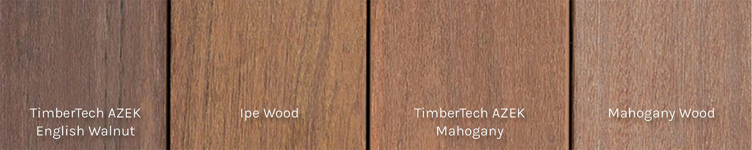 Comparing TimberTech Composite Decking vs Wood