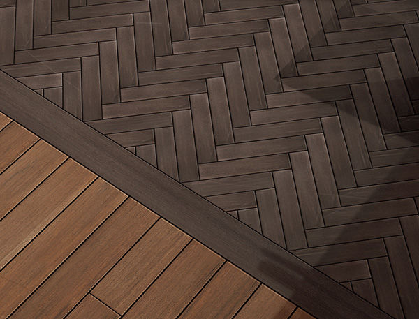 Complex designs can increase deck cost.
