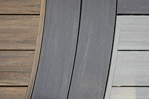 PVC deck boards with nature-inspired aesthetics TimberTech AZEK
