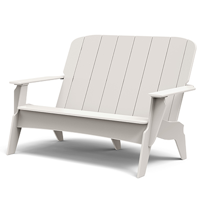 Outdoor Furniture TimberTech Invite Collection by Loll Champagne Bench