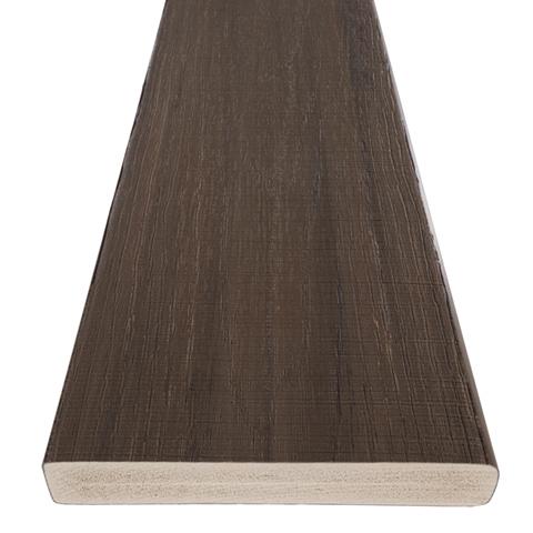 TimberTech AZEK Landmark Decking Front Angle American Walnut