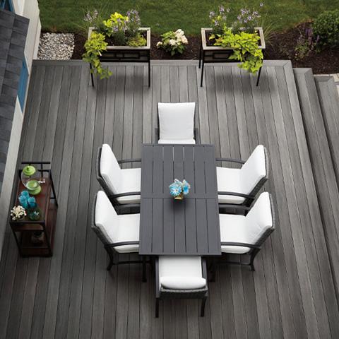 Timbertech Landmark American Walnut Deck Beauty Shot