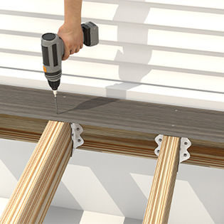 How to Install TimberTech AZEK Decking with TOPLoc® Color-Matched Screws