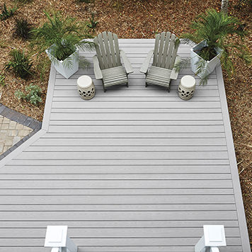 How to Picture Frame a Deck