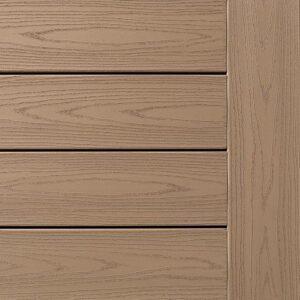 TimberTech AZEK Harvest Collection Brownstone Deck Display Swatch