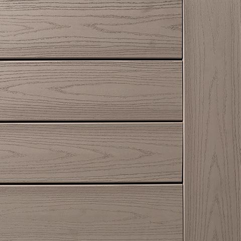 TimberTech AZEK Harvest Collection Slate Gray Deck Display Swatch