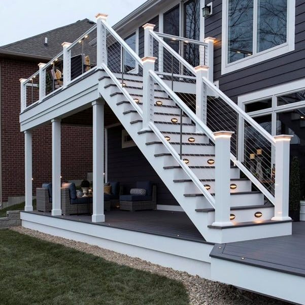 outdoor living products railing