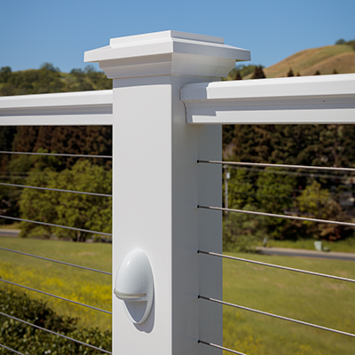 overall railing material
