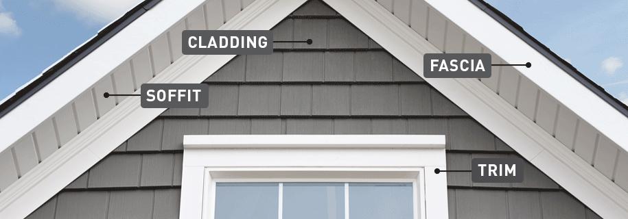 Fascia trim and home exterior definitions