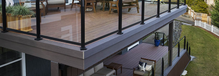 Fascia trim on your deck