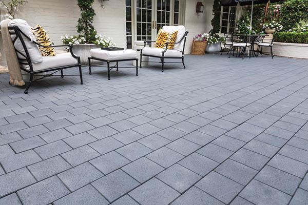 Opt for a composite paver patio