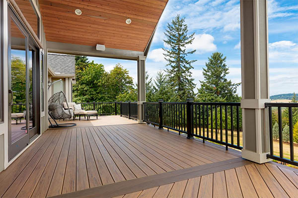 TimberTech capped composite decking is better than the best wood for outdoor deck builds