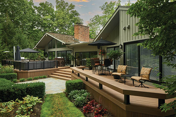 TimberTech decking material offers long-term value and beauty