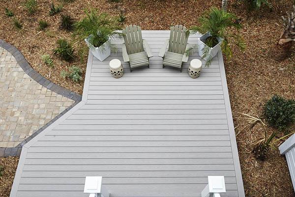 Benefits of low deck ideas include an often easier DIY build