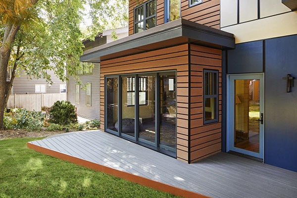 TimberTech AZEK Paintpro Cladding building resilance for the pros