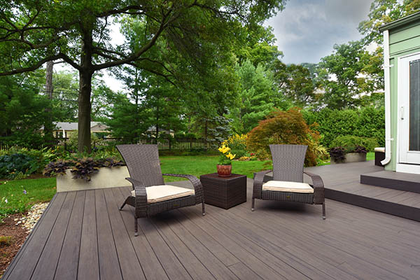 Back deck designs for low to the ground decks
