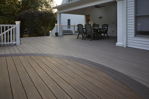 Choose more than two composite deck board colors