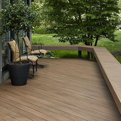 DIY composite deck board pattern considerations
