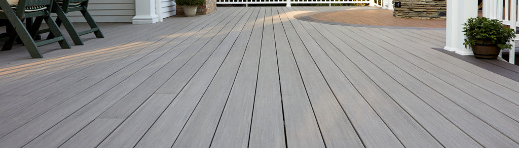 Deck board spacing recommendations by TimberTech
