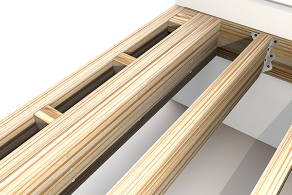 Framing for how to finish the ends of composite decking with a picture frame border