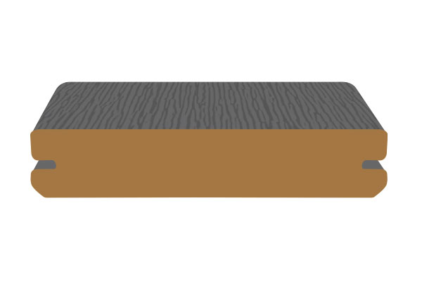 End coating application for how to finish the ends of composite decking