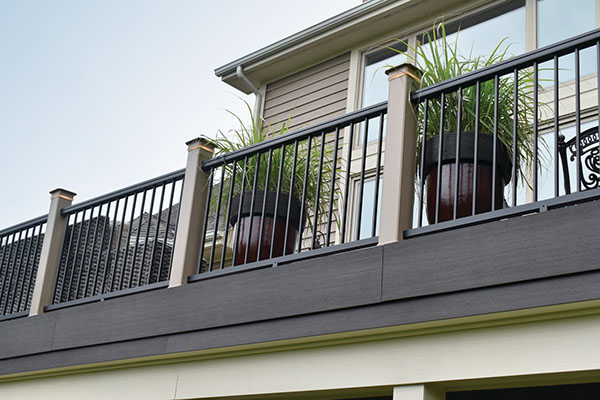 Ideas for how to finish the ends of composite decking including deck board as fascia