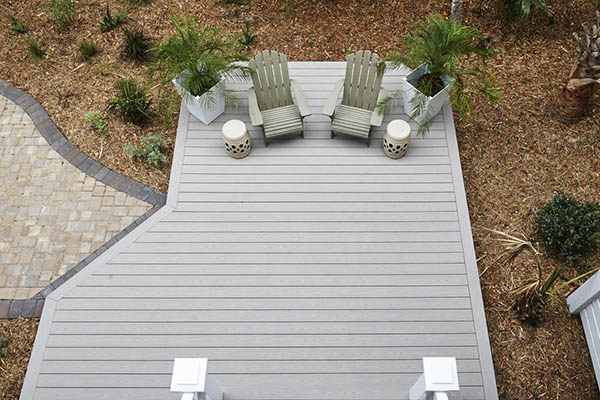Why finish the ends of composite decking with a picture frame border