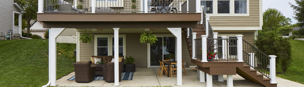 Finishing under deck areas with under deck ideas by TimberTech