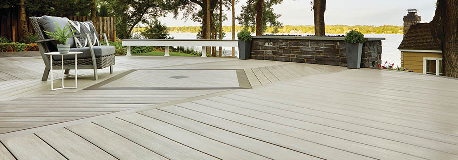 The best decking boards are AZEK deck boards
