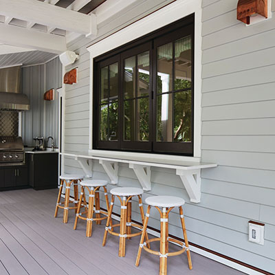 DrySpace under deck systems keeps your built-in bar dry